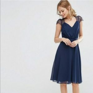 Navy ASOS dress! New with tags!